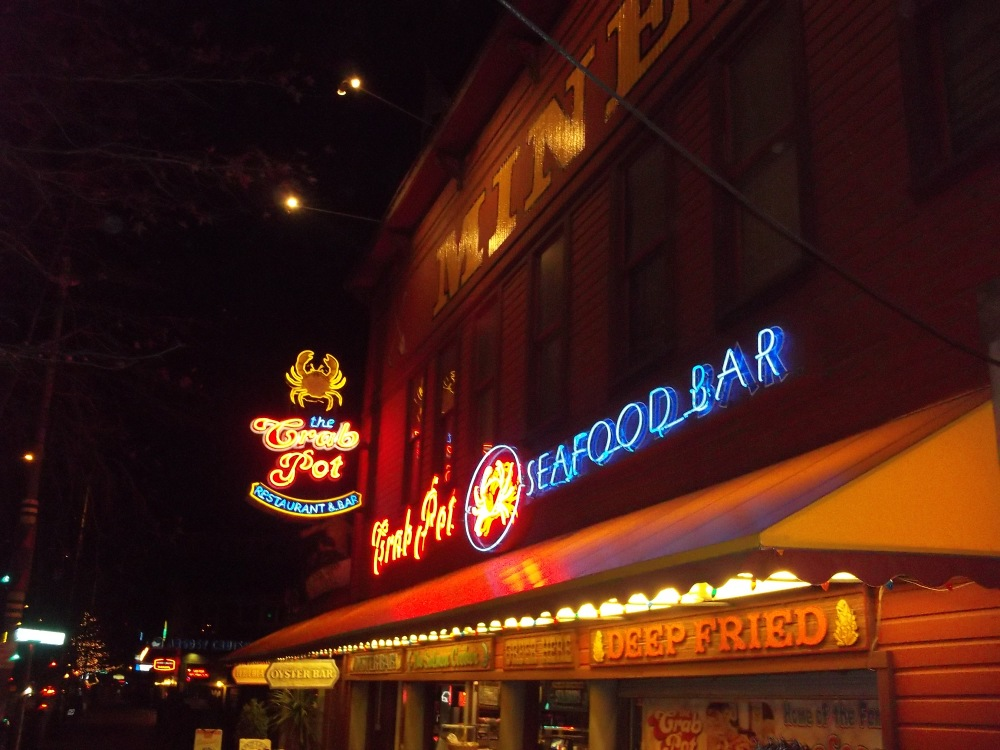 food & travel: the crab pot, seattle (1/4)