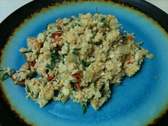 food: paleo risotto