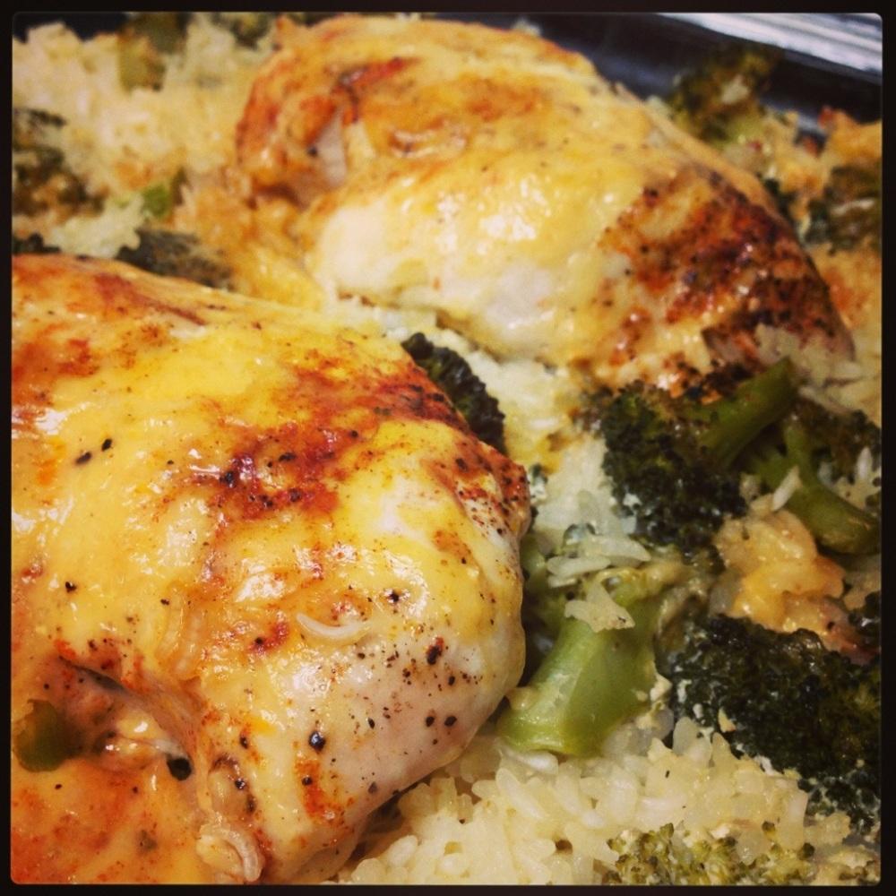 food: chicken, broccoli & rice casserole (4/4)