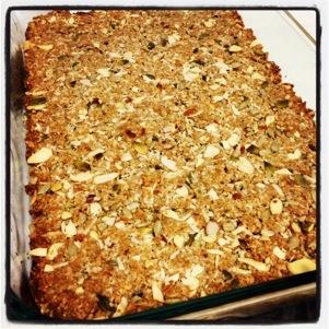 food: paleo granola bars (2/2)