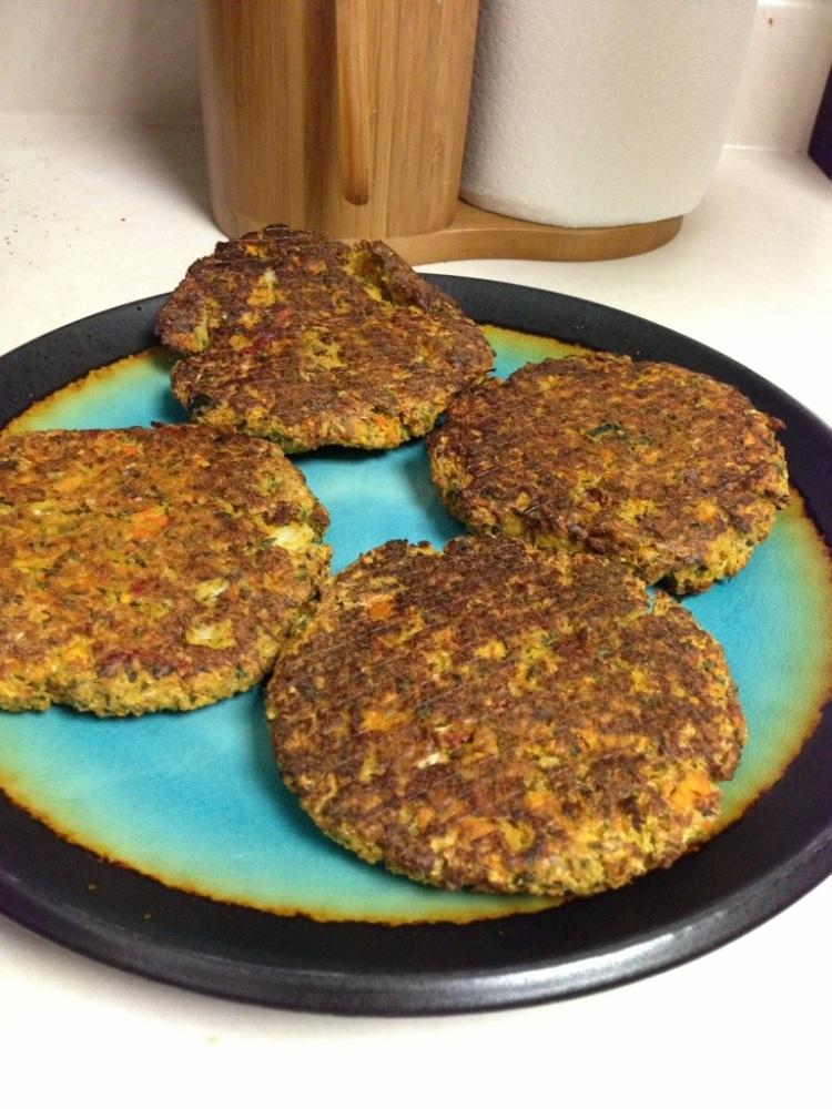 food: paleo veggie burgers (3/3)